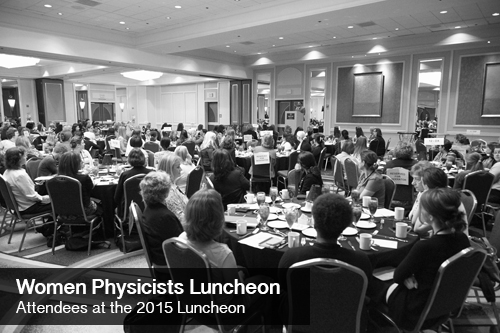 Women Physicists Luncheon